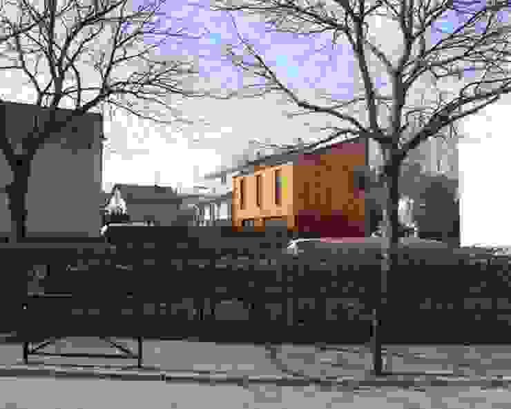 Nowoczesne domy od Allegre + Bonandrini architectes DPLG Nowoczesny