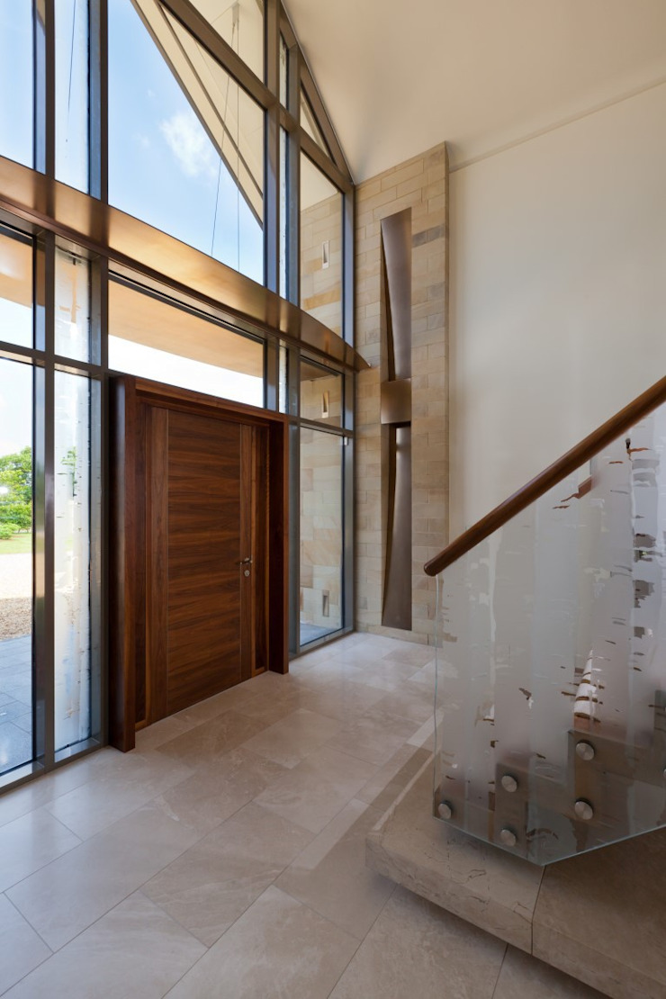 Lancashire Residence Classic style corridor, hallway and stairs by Kettle Design Classic