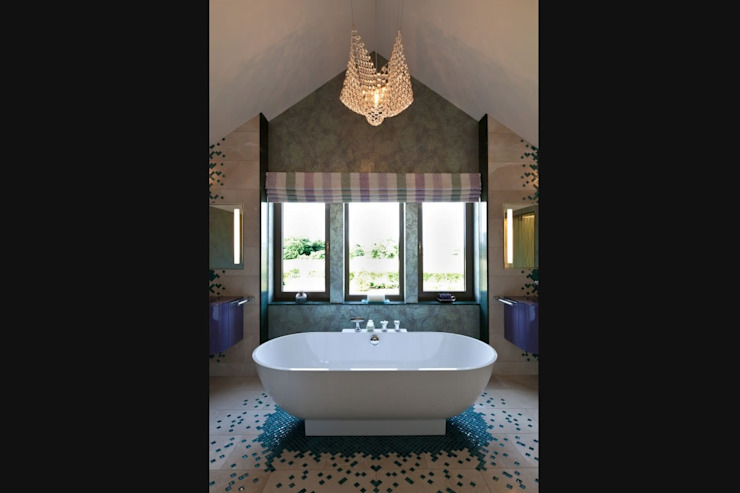 Lancashire Residence Eclectic style bathroom by Kettle Design Eclectic