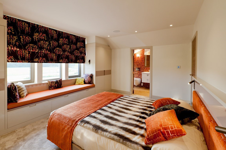 Lancashire Residence Eclectic style bedroom by Kettle Design Eclectic