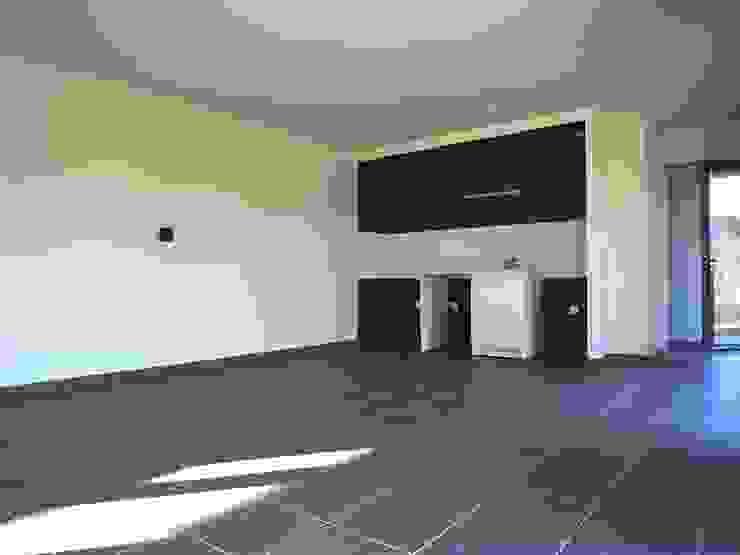 10 logements sociaux Passifs Cuisine moderne par Allegre + Bonandrini architectes DPLG Moderne