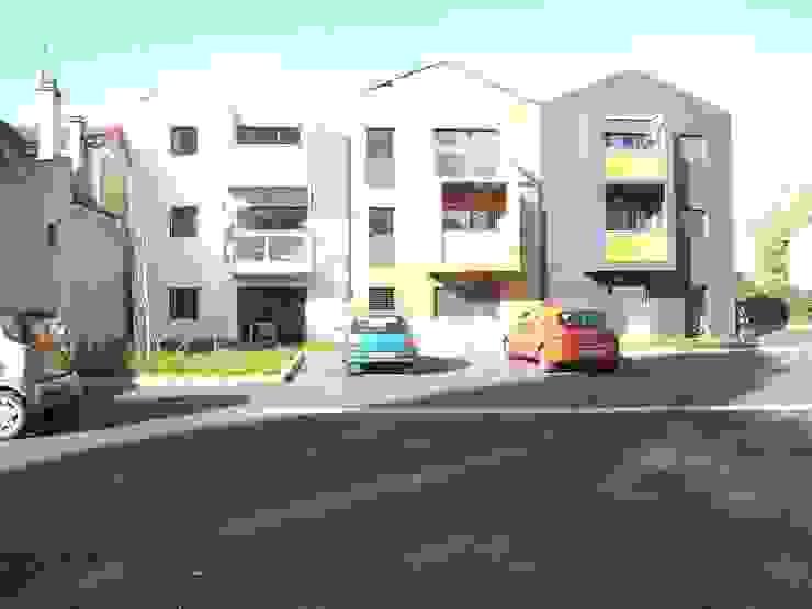 Houses by Allegre + Bonandrini architectes DPLG, Modern