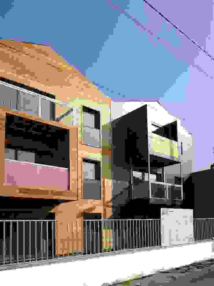 Casas de estilo moderno de Allegre + Bonandrini architectes DPLG Moderno