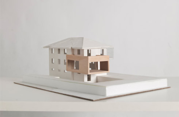 Casas de estilo moderno de michele roccabruna architetto Moderno