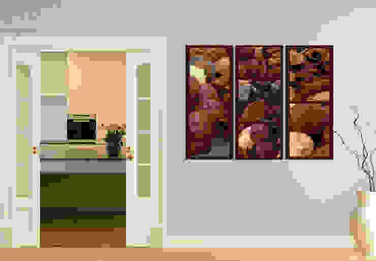 Acrylglasbilder - Schokoladentraum (3-teilig) von K&L Wall Art Ausgefallen