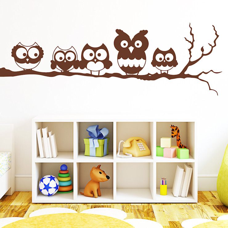 Nursery/kid's room by Wandtattoo-Loft