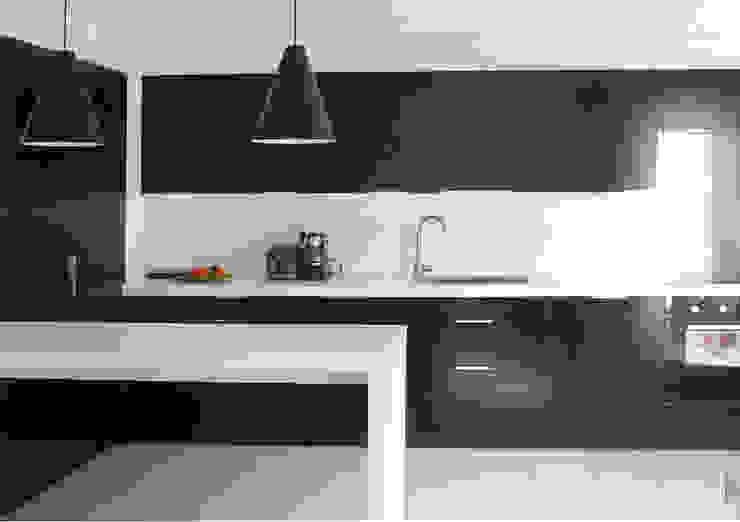 Cocinas de estilo moderno de Delphine Gaillard Decoration Moderno