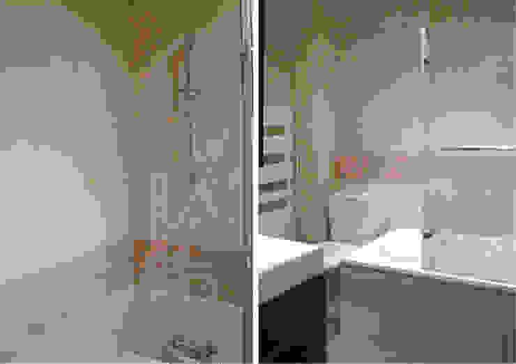 Kamar mandi: Ide desain interior, inspirasi & gambar Oleh Delphine Gaillard Decoration