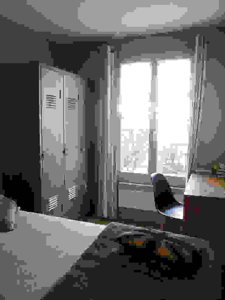 Décoration de la chambre d'un jeune homme à Rueil Malmaison Chambre par Delphine Gaillard Decoration