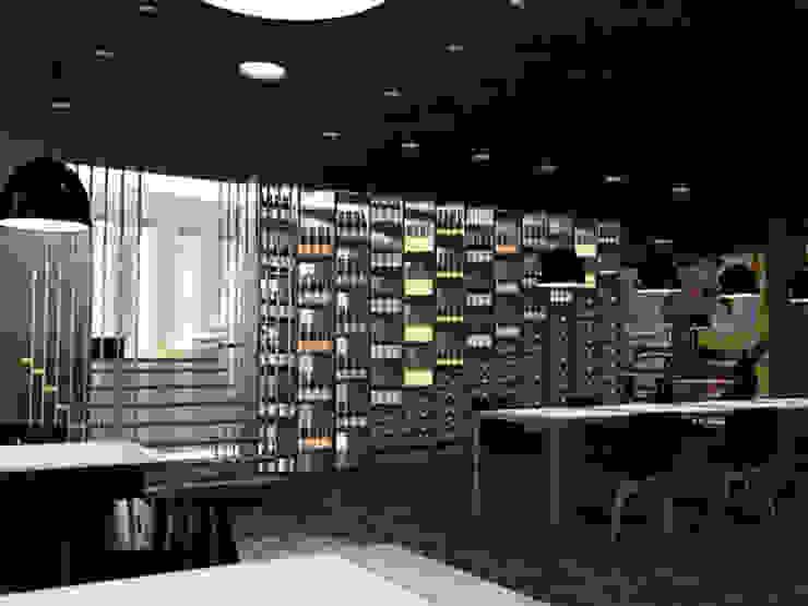 Vista 2 Negozi & Locali commerciali moderni di lca-office Moderno