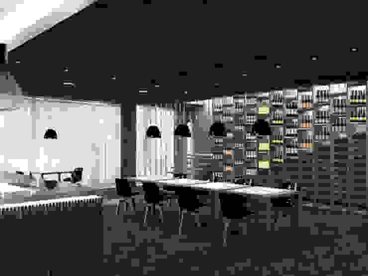 Vista 1 Negozi & Locali commerciali moderni di lca-office Moderno