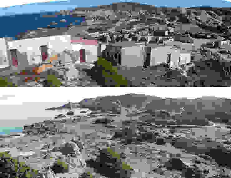 Comparativa' Pla de Tudela' Casas de EMF - landscape architecture