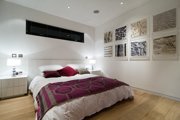 The Edge Boutique Modern Ltd Modern style bedroom