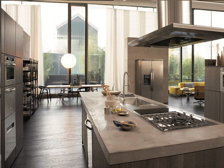 Gama Elite Eclectic style kitchen