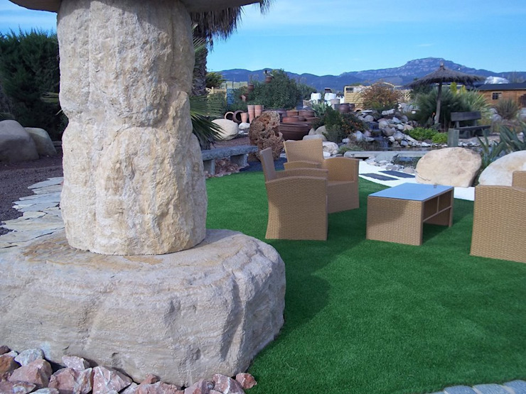 PAISAJISMO- XEROJARDINERÍA Jardines de estilo mediterráneo de VIVSA. VIVIENDA SANA Mediterráneo