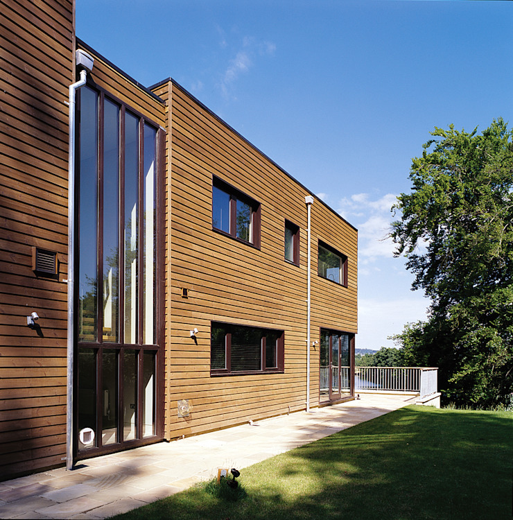 Marlow House TLA Studio Modern style rooms