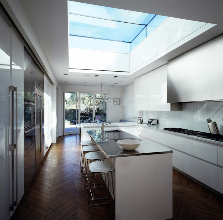 Hampstead House TLA Studio Modern style rooms