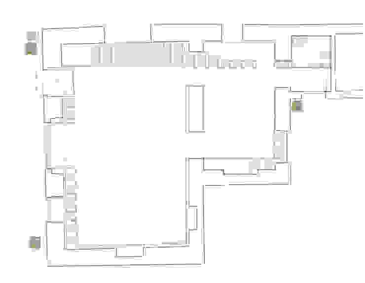 Negozio di tappeti antichi Negozi & Locali commerciali moderni di Studio RBA Moderno