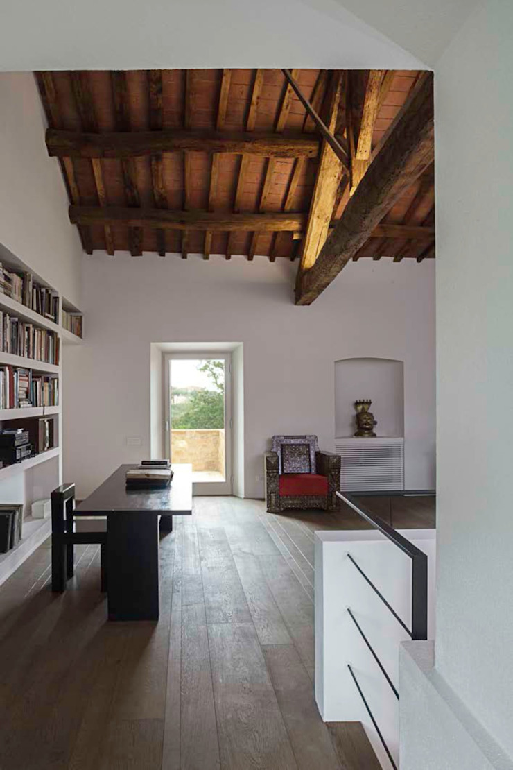 A2 house Modern study/office by vps architetti Modern