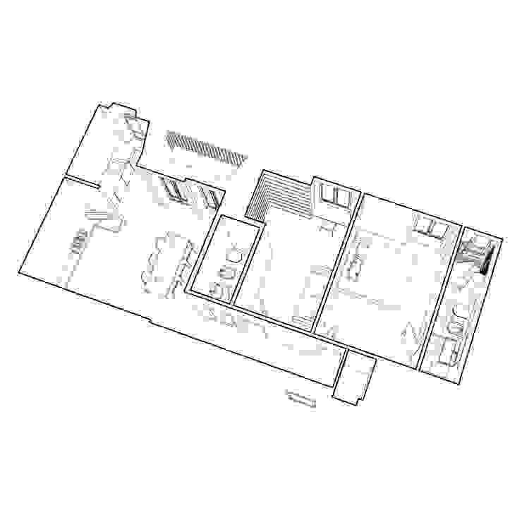casa YM di Gru architetti Moderno