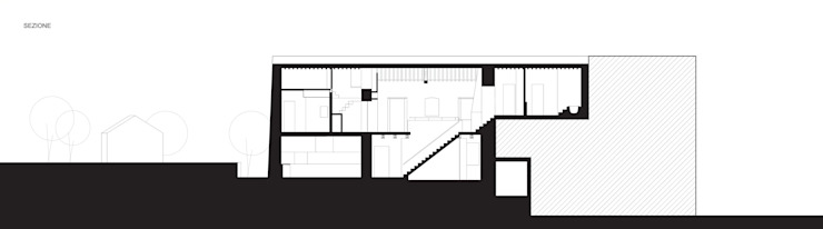A2 house Modern houses by vps architetti Modern