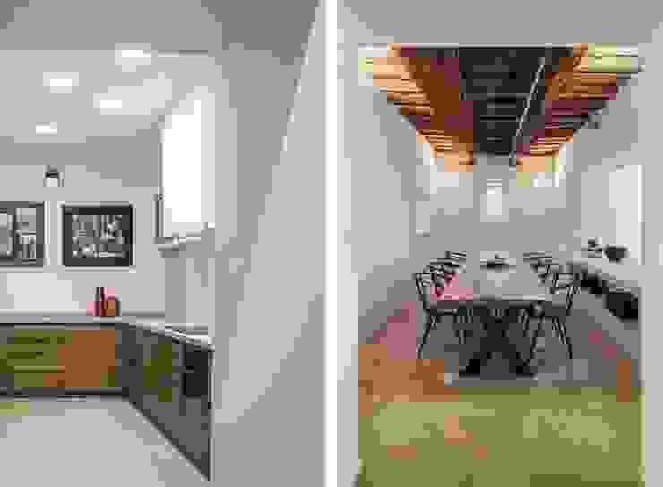 casa A2 Sala da pranzo moderna di vps architetti Moderno