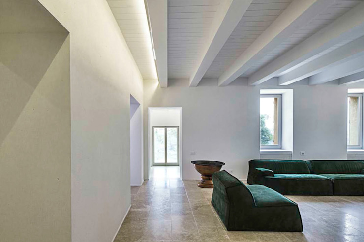 A2 house Modern living room by vps architetti Modern