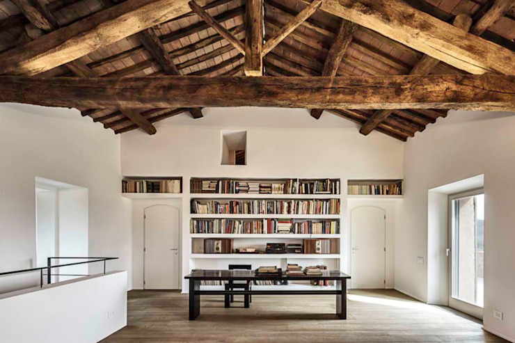A2 house Modern Study Room and Home Office by vps architetti Modern