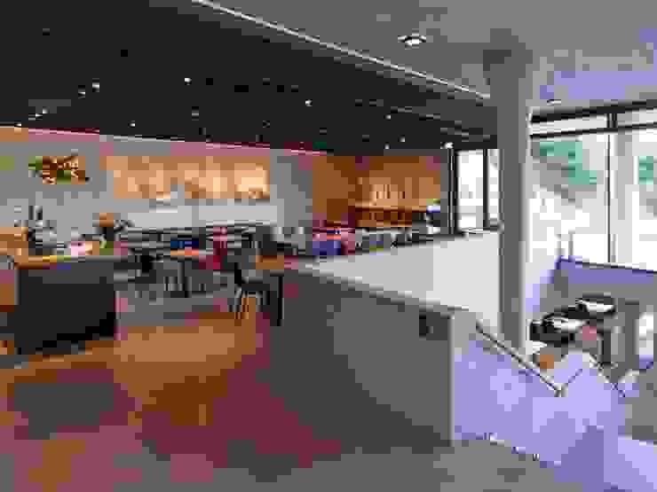 Vineyard Franz Keller – nominee for the German Lighting Design Prize 2014 Adegas modernas por Tobias Link Lichtplanung Moderno