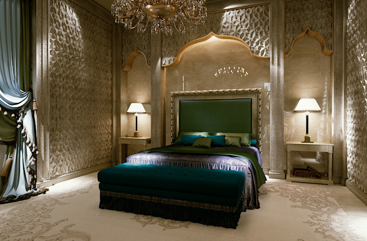 Eclectic style bedroom by Scultura & Design S.r.l. Eclectic