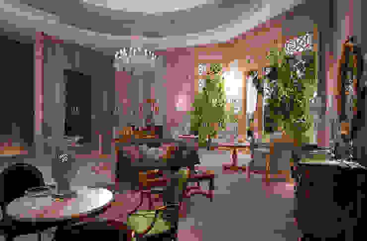 Salones de estilo ecléctico de Scultura & Design S.r.l. Ecléctico