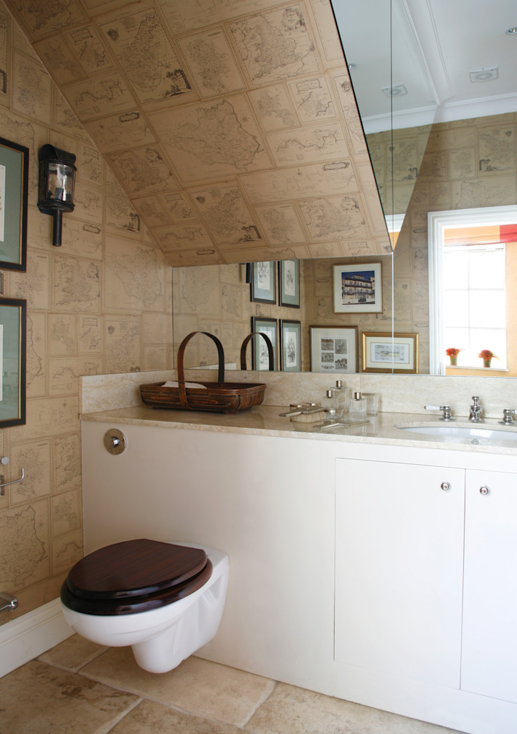 Wiltshire - Rural Retreat Classic style bathroom by VSP Interiors Classic