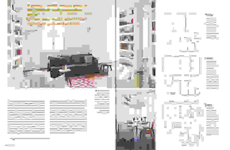 Renovation of an apartment placed in Parioli-Pinciano neighbourhood in Rome. di Studio Cassiani Eclettico