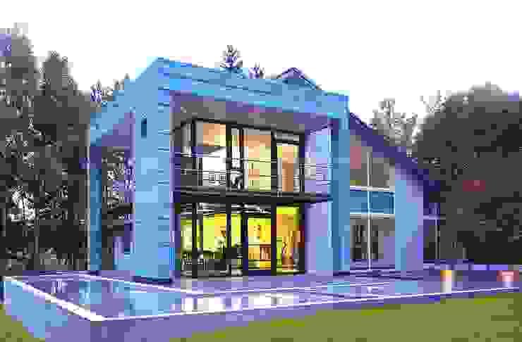 Haus am See mit Himmelsblick Moderne Häuser von Stadie + Stadie Architekten Modern