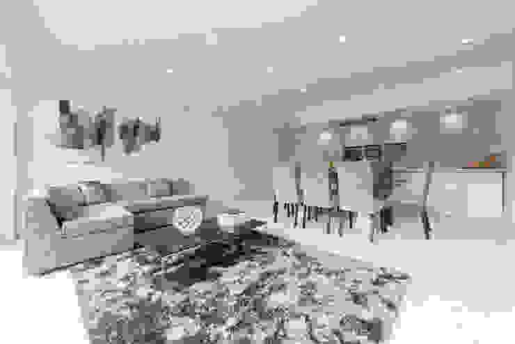 Dulwich Modern living room by kt-id Modern
