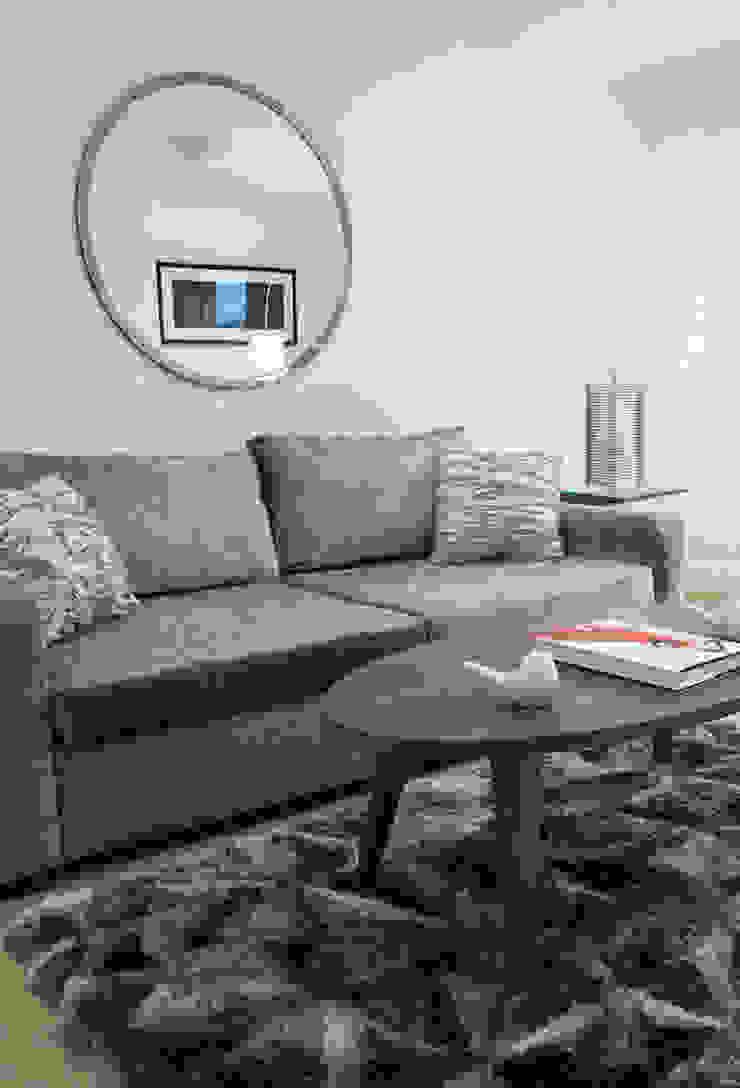 Clapham Modern living room by kt-id Modern