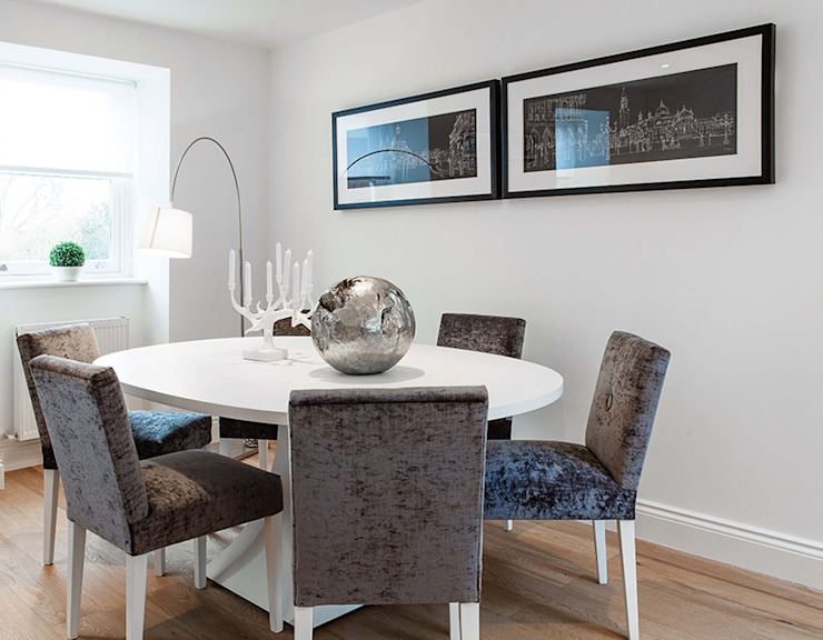 Clapham Classic style dining room by kt-id Classic