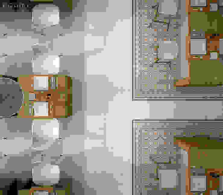 Caprice Salones de estilo colonial de Equipe Ceramicas Colonial