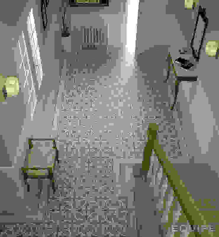 Caprice Pasillos, vestíbulos y escaleras de estilo colonial de Equipe Ceramicas Colonial