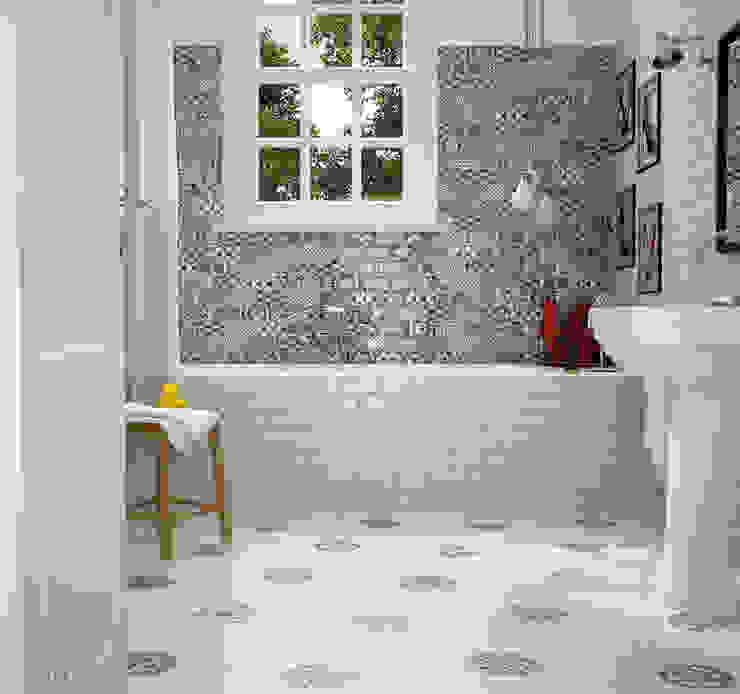 Equipe Ceramicas Eclectic style bathroom Ceramic