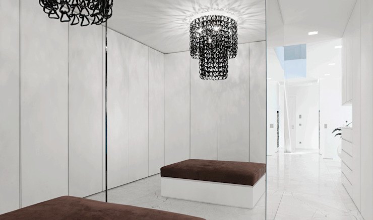 Modern dressing room by monovolume architecture + design Modern
