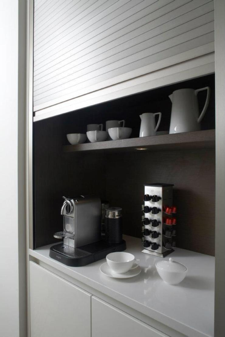 Chelsea Apartment Cocinas de estilo moderno de TLA Studio Moderno