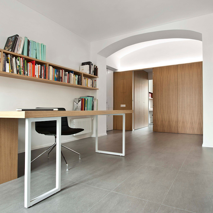 Modern Study Room and Home Office by studioata Modern