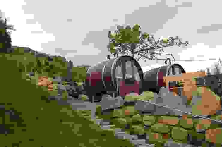 Hoteles de estilo ecléctico de Schlafen im Weinfass Ecléctico