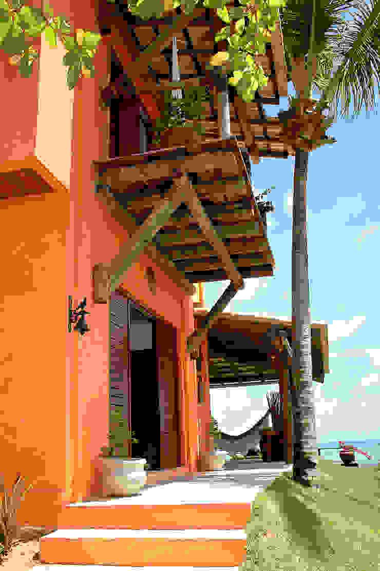 Projeto Casas campestres por Isnara Gurgel - Arquitetura + Interiores Campestre