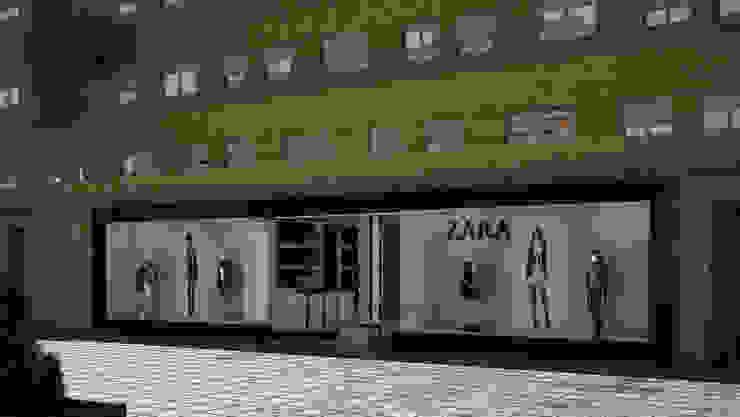 Tienda de ropa Zara en Madrid homify Oficinas y Tiendas