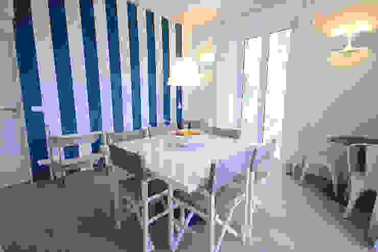 LUXURY GUEST HOUSE CA' DE TOBIA (NOLI - SV) Sala da pranzo in stile rustico di Studio Guerra Sas Rustico