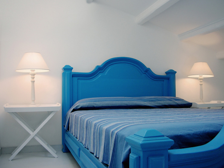 Dormitorios mediterráneos de Studio Guerra Sas Mediterráneo