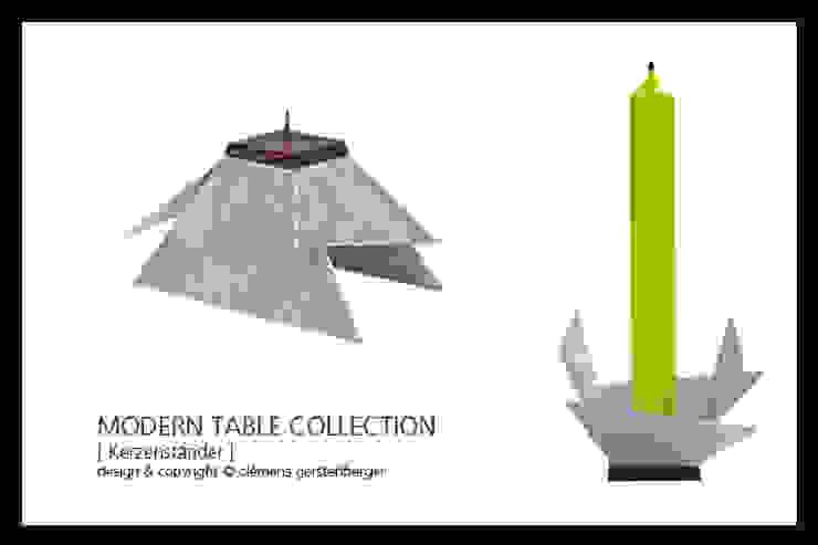 Modern Table Collection - Kerzenständer: modern  von GERSTENBERGER®,Modern