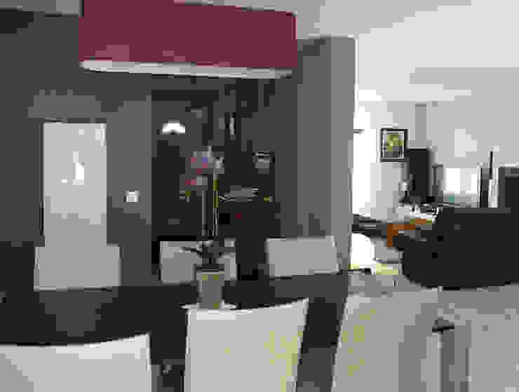 Salas modernas de Laurence Boudet Architecture d'intérieur et décoration Moderno